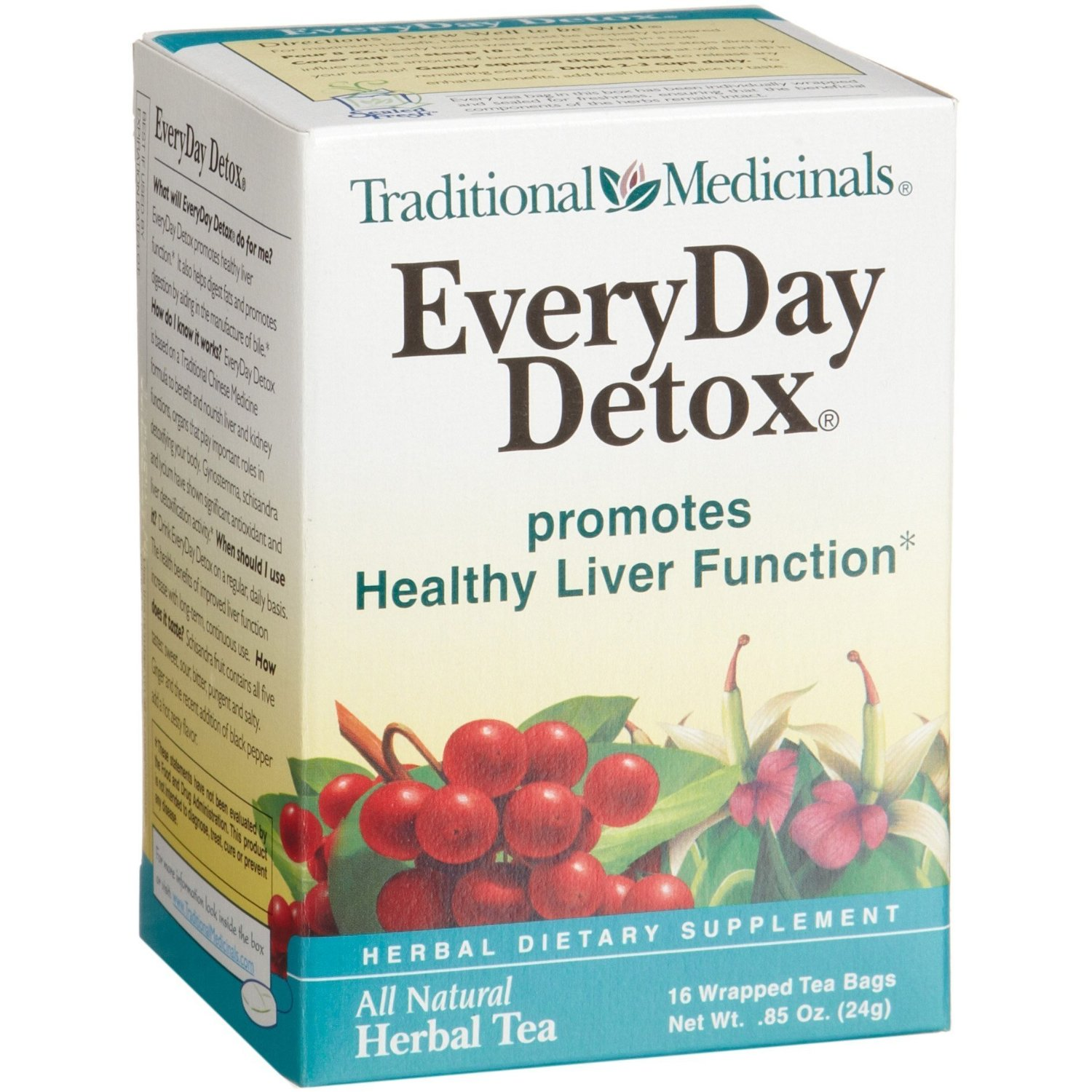 Everyday detox traditional medicinals