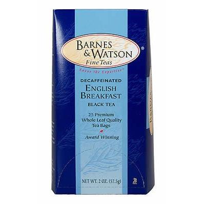 Barnes and Watson Decaf English Breakfast | Tea Lady